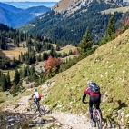 Füssener Jöchle Mountainbiker