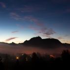 Nebel über Pfronten