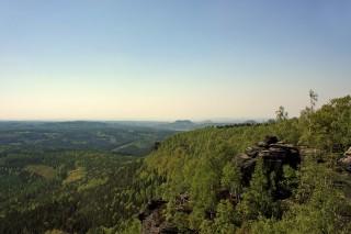 Bild des Tages 27.04.2011 - Blick vom Großen Zschirnstein