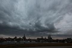 bedrohliches Dresden
