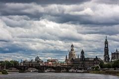 Dresden Altstadt Silhouette