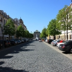 Königstraße im Barockviertel