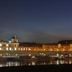 Skyline von Dresden bei Nacht