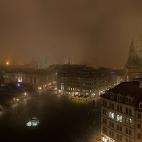 Neumarkt im Nebel