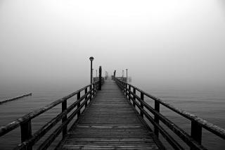 Bild des Tages 08.02.2011 - Seebrücke