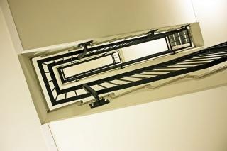 Bild des Tages 04.02.2011 - Treppe Strandhotel Zingst