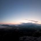 Panorama zur Blauen Stunde