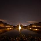 Sterne über dem Großen Garten Dresden