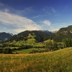 Saanental Panorama