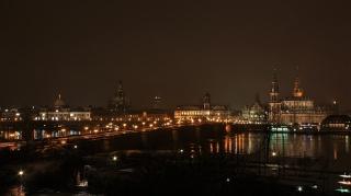 Bild des Tages 25.01.2011 - Dresden bei Nacht