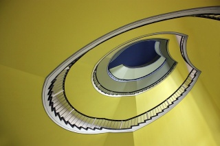 Bild des Tages 21.01.2011 - green stairs