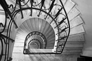 Bild des Tages 16.01.2011 - old fashioned stairs