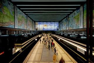 Bild des Tages 07.06.2011 - Wiener U-Bahnhof