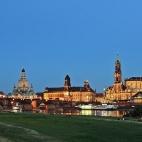 Bild des Tages 05.06.2011 - Dresden zur Blauen Stunde