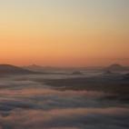 ein Meer aus Nebel