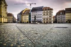Lockdown in Dresden