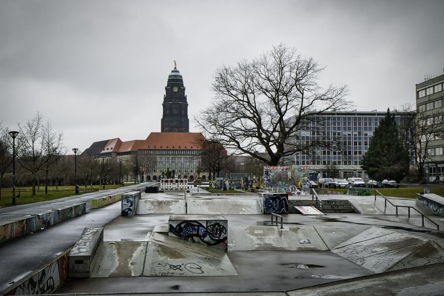 Halfpipe Skatepark Dresden