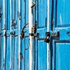 Essaouira - Türen am Hafen