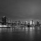 Skyline von Manhatten bei Nacht