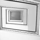 rechteckige Treppe
