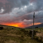 Sonnenuntergang Nationalpark Cotopaxi