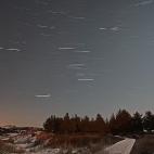 bewegter Sternenhimmel über Amrum