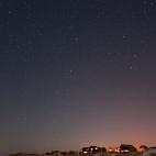 Sternenhimmel über Amrum