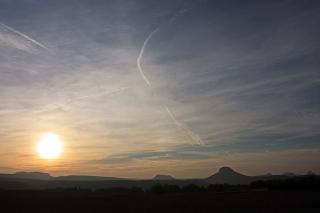 Bild des Tages 28.11.2010 - Sonnenuntergang