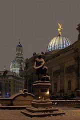 22.10.2010 - Gottfried Semper Statue