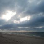 Lichtspiel über der Ostsee