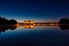 Moritzburg bei Nacht