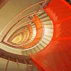 orange stairs III