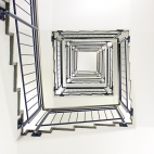 quadratige Treppe 1