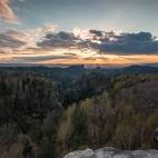 Sonnenuntergang Carolafelsen
