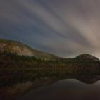 Echo Lake at night
