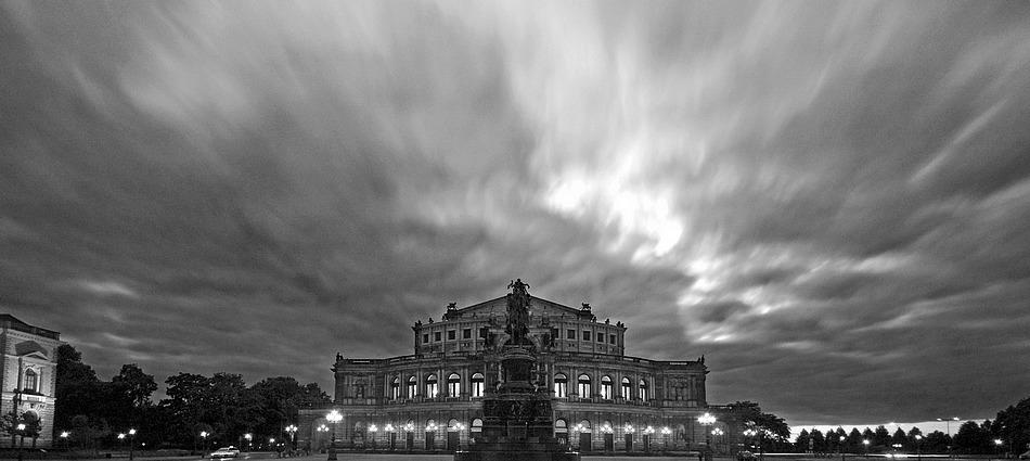 Langzeitbelichtung in Dresden
