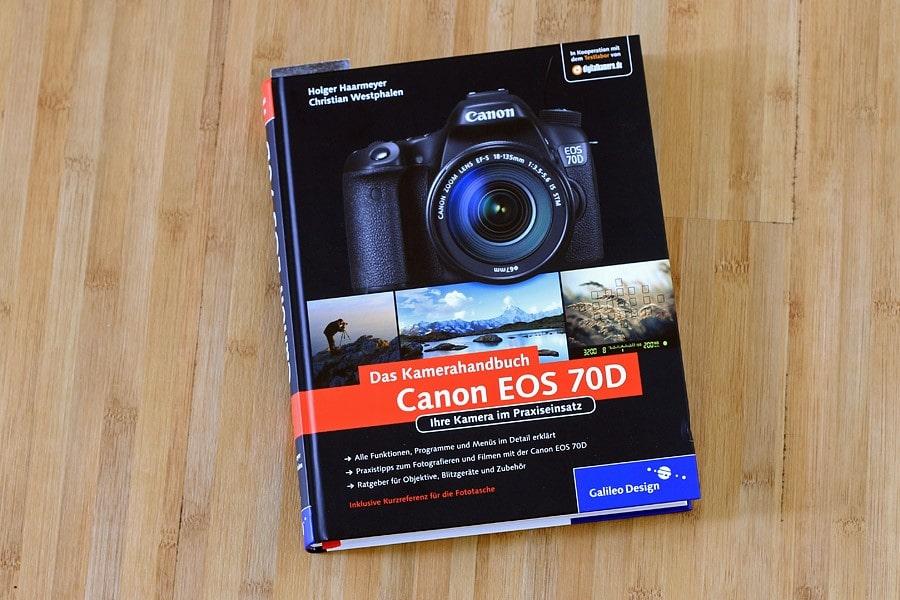 Buchempfehlung zur Canon 70D von Rheinwerk