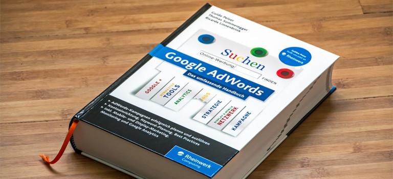 """Buchempfehlung """"Google AdWords"""" von Rheinwerk"""