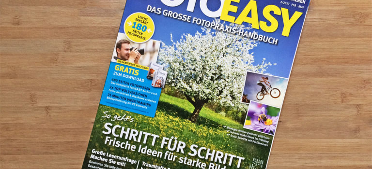 Interview in der FotoEASY 01/2017