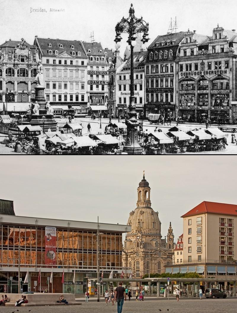 Eine Zeitreise durch Dresden