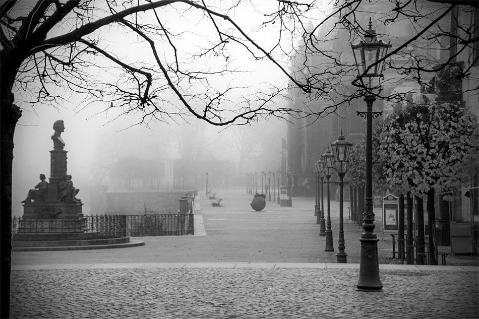 dresden in the fog